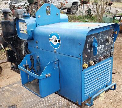Miller Electric Del 200 Diesel Deutz Welder