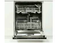 Bosch Integrated Dishwasher 2 years old excellent condition
