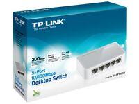 5 Port Desktop Switch. Brand new / unopened