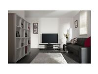 "Techlink Echo XL EC150B Black Ex Display TV Stand up to 75"" TV"
