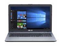 "New Asus X541SA 15.6"" 1TB HDD/4GB RAM Laptop Intel Pentium N3710 DVD/RW W10"