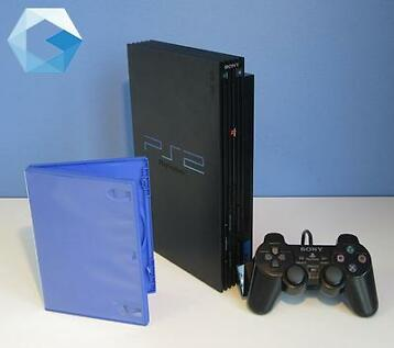 Complete PlayStation 2 spelcomputer. PS2 met garantie!