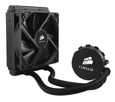 CORSAIR Hydro CW-9060010-WW H55 120 mm CPU Cooler Black 1700 RPM