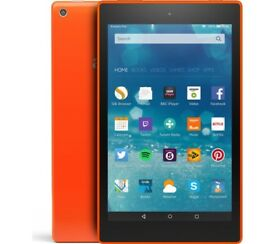 "AMAZON Fire HD 8"" Tablet - 8 GB, Orange"
