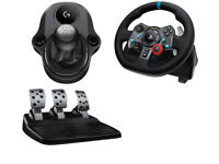 Logitech G29 wheel pedals and shifter for PS3/PS4/PC