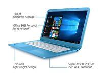 """x 2 HP Stream 14-ax050sa 14"""" Laptop - Blue"""
