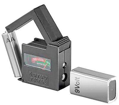 Universal Batterie-Tester|Batterie-Prüfer für fast alle Typen und Knopfzellen