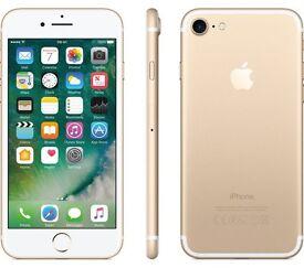 I phone 7 128gb gold o2 nearly new!