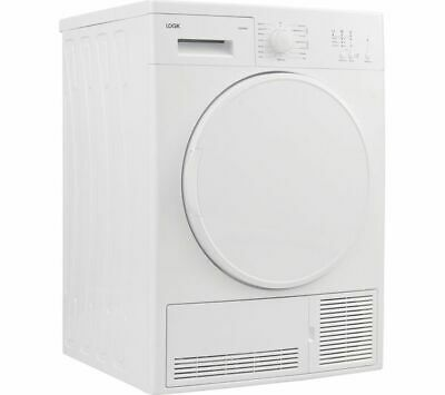 LOGIK LCD7W18 7 kg Condenser Tumble Dryer - White - Currys