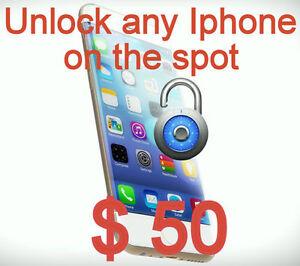 Unlock any Iphone any Carrier any iOS in 5min