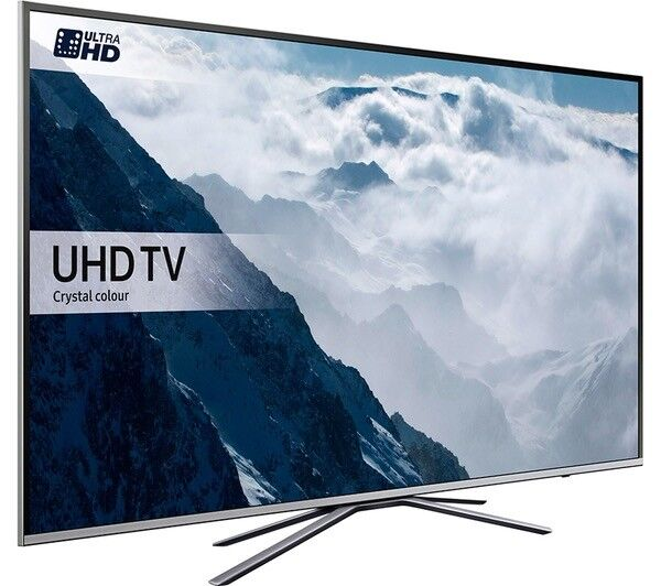 SAMSUNG 55 SMART UHD HDR 4K 1500PQI FREESAT &FREEVIEW HD