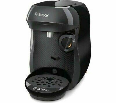 TASSIMO by Bosch Happy TAS1002GB Coffee Machine - Black - Currys