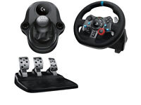 LOGITECH Driving Force G29 Steering Wheel, Pedals and Gearshift