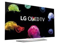 """65""""LG 65EF950V Smart 3D 4k Ultra HD OLED TV RRP £3199 ONLY £1800 Bargain"""