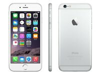 Apple iphone 6 silver 64gb unlocked and boxed