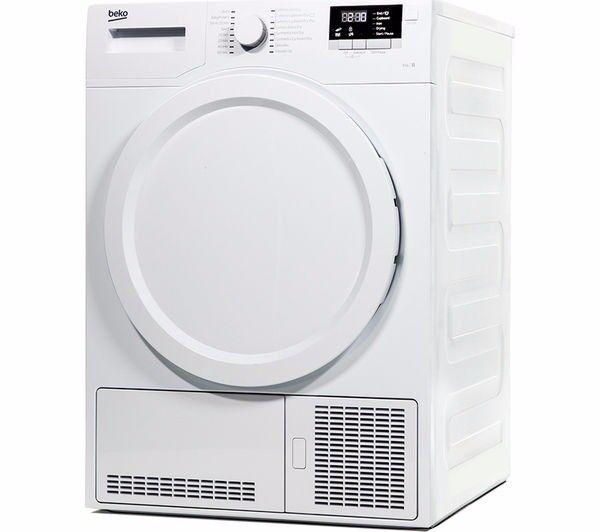 Brand New White Condenser Tumble Dryer (BEKO - DCX83100W) Still in packaging.