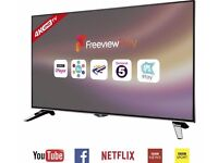 JVC LT-43C860 Smart 4K Ultra HD 43 Inch LED TV a Freeview Play, USB Media Player, WiFi - New Model