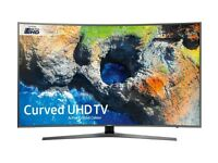 BRAND NEW SAMSUNG 55 CURVED SMART UHD 4K HDR 1700PQI VOICE CONTROL WIFI FREESAT & FREEVIEW HD