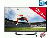 "42"" 3D full HD LG tv"