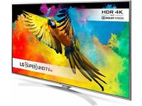 LG 49'' SMART 4K HDR QUANTUM LED TV.2017 MODEL LG49UH850V.SATELITE TURNER.MINOR SCRATCH