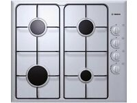 BOSCH GAS HOB-STAINLESS STEEL