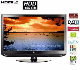 "LG 42"" LCD Full HD Digital Built-in Freeview & 160GB Hard Drive for Recording Live TV"