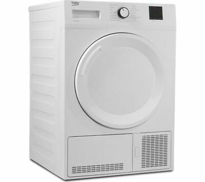 BEKO DTBC10001W 10 kg Condenser Tumble Dryer - White - Currys