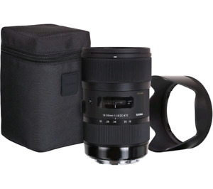 Sigma 18-35mm for canon