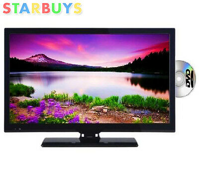 "24"" inch LED LCD TV DVD Combi HD Ready, Freeview, PC Input, HDMI, Remote, Scart"