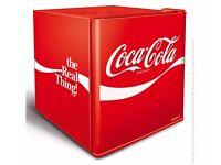 HUSKY COCA COLA MINI FRIDGE-RED A+ - £85