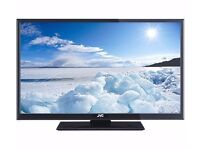 """32""""INCH JVC LED HD TV WITH BUILT IN FREEVIEW **CAN BE DELIVERED**"""