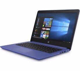 """HP 14-bp073sa 14"""" Laptop - Marine Blue"""
