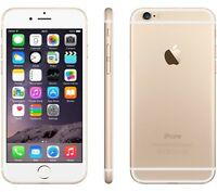 iPhone 6 64gb gold locked to Bell amazing condition $700
