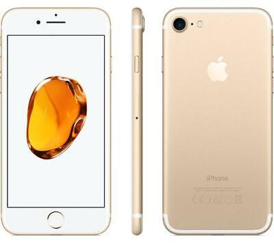 Brand New iPhone 7 Gold Unlocked Factory Sealed Apple 128GB Present Gift