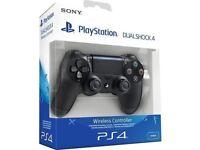 PS4 DualShock 4 Controller Pro/Slim Official PlayStation V2 In Jet Black