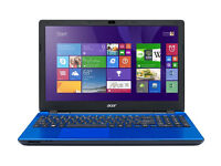 "Acer Aspire E5-571 15.6"" Laptop - Intel core i3 - Blue"