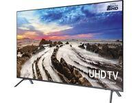 NEW ULTRA SLIM SAMSUNG 49 SERIES 7 SMART UHD 4K HDR 2300PQI VOICE CONTROL FREESAT HD