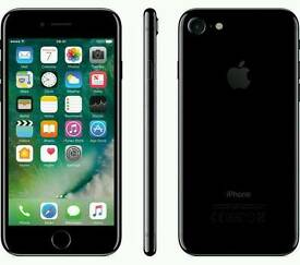 IPHONE 7 JET BLACK 128 GB UNLOCKED BRAND NEW SEALED