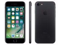 iPhone 7 32gb Matt Black Unlocked