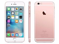 APPLE IPHONE 6S 16GB UNLOCKED MINT CONDITION £240 OR NEAREST OFFERS