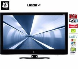 LG 47 inch HD Full 1080p LCD TV with Freeview built in + 3 x HDMI + USB Media Player not 32 39 40