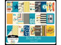 Project Life Boys Rule Value Kit