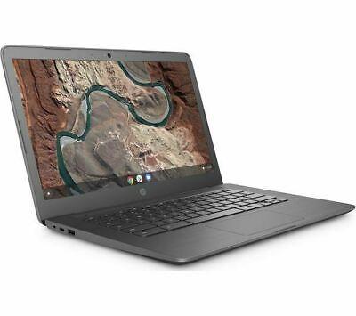 """HP 14-ca050sa 14"""" AMD A4 Chromebook - 32 GB eMMC, Grey"""