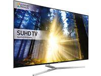 SAMSUNG 65 QUANTUM DOT DISPLAY SMART LED SUHD HDR 2300 PQI FREESAT &FREEVIEW HD!!