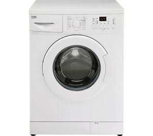 Beko wm74125w washing machine 7kg 1200rpm a energy rating 15 programs white ebay - Interesting facts about washing machines ...