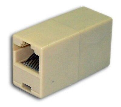 Adaptador Prolongador para Cable Ethernet de Red RJ45 RJ 45 CAT 5...