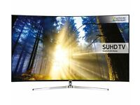 "Brand new SAMSUNG UE55KS9000 Smart 4K Ultra HD HDR 55"" Curved LED TV"