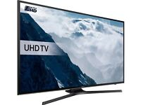 SAMSUNG 43 SMART FLAT SCREEN 4K ULTRA HD HDR LED 1300HZ VOICE CONTROL FREESAT & FREEVIEW HD