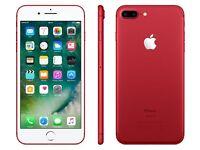 New IPHONE 7 PLUS RED 128GB