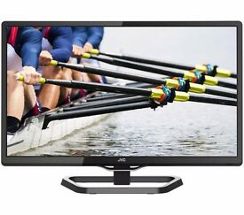 "New JVC LT-24C340 24"" LED TV with Built-in DVD Player Was: £159.99"